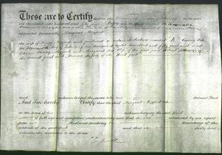 Deed by Married Women - Margaret Mogford-Original Ancestry