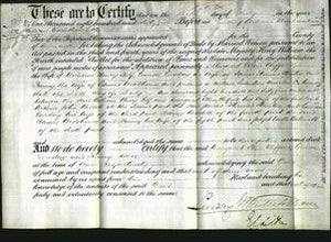 Deed by Married Women - Margaret Ellen Clifford Self, Louisa Loveday Stanton and Fanny Woodhouse-Original Ancestry