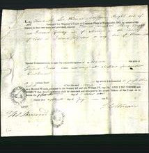 Appointment of special commissioners - Thomas Carmichael, Henry Baggs and Edward Galwey-Original Ancestry