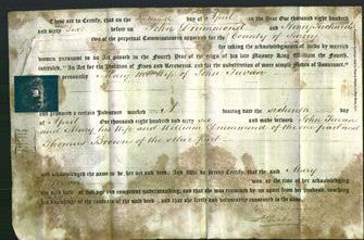 Deed by Married Women - Mary Teevan-Original Ancestry