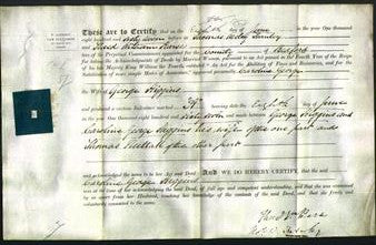 Deed by Married Women - Caroline George Higgins-Original Ancestry