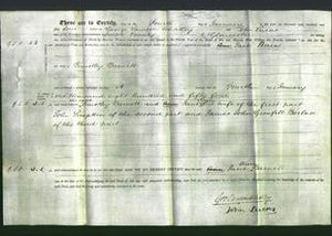 Deed by Married Women - Jane Ann Barnett-Original Ancestry