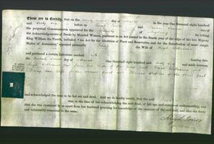 Deed by Married Women - Jane Williams-Original Ancestry