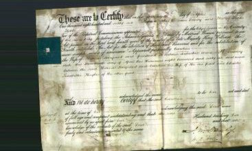 Deed by Married Women - Caroline Sargeant-Original Ancestry