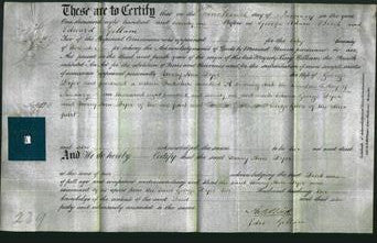 Deed by Married Women - Mary Ann Dyer-Original Ancestry