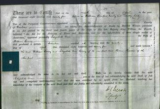 Deed by Married Women - Elizabeth Ann Corney-Original Ancestry