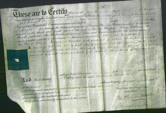 Deed by Married Women - Hannah Howlett Clarke-Original Ancestry