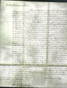 Court of Common Pleas - Ann Barber-Original Ancestry