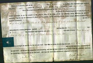 Deed by Married Women -Ellin Owen-Original Ancestry