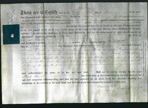 Deed by Married Women - Phoebe Keevil-Original Ancestry
