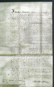 Court of Common Pleas - Elizabeth Booth and Matilda Broomhead-Original Ancestry