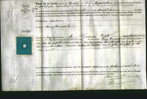 Deed by Married Women - Catherine Isabella Raincock-Original Ancestry