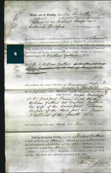 Deed by Married Women - Caroline Guthrie-Original Ancestry