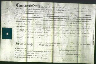 Deed by Married Women - Lucy Ann Rodgers-Original Ancestry