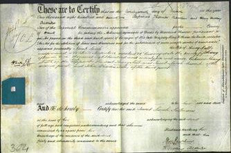 Deed by Married Women - Janet Sarah Salt-Original Ancestry