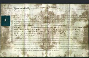 Deed by Married Women - Harriet Howson-Original Ancestry