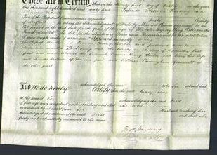 Deed by Married Women - Mary Barber-Original Ancestry