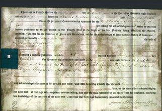 Deed by Married Women - Hannah Gregson-Original Ancestry