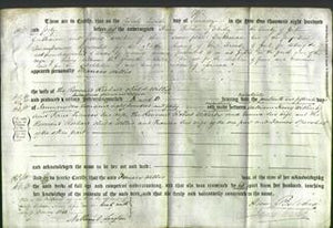 Deed by Married Women - Frances Willis-Original Ancestry