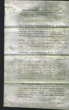 Deed by Married Women - Elizabeth Waterhouse, Ann Guest and Helen Ditchfield-Original Ancestry