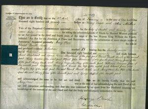 Deed by Married Women - Mary Ann Sands-Original Ancestry