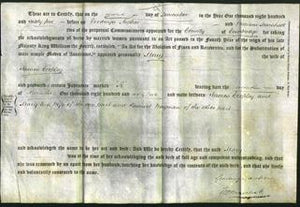 Deed by Married Women - Mary Cropley-Original Ancestry