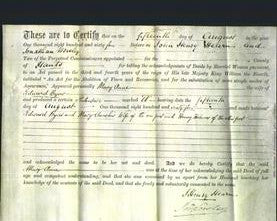 Deed by Married Women - Mary Anne Byas-Original Ancestry