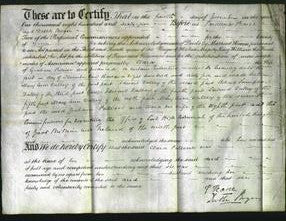 Deed by Married Women - Clara Palliser-Original Ancestry