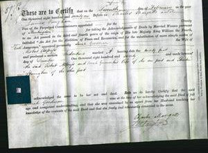 Deed by Married Women - Sarah Goodman Allpress-Original Ancestry