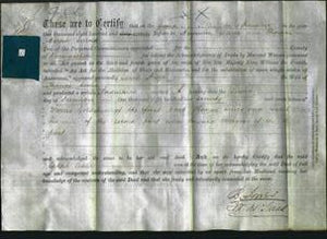 Deed by Married Women - Sarah Anne Lewis-Original Ancestry