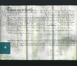 Deed by Married Women - Elizabeth Ann Elliott-Original Ancestry