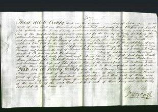 Deed by Married Women - Mary Forman and Susanna Forman-Original Ancestry