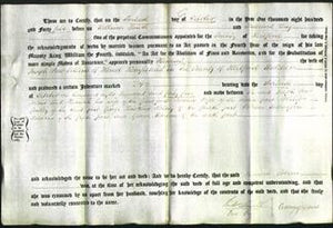 Deed by Married Women - Hannah Collins-Original Ancestry