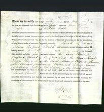 Deed by Married Women - Sarah Cauch-Original Ancestry