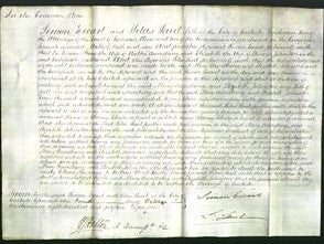 Court of Common Pleas - Mary Armstrong and Elizabeth Johnston-Original Ancestry