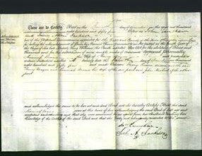 Deed by Married Women - Hannah Maria Mayne-Original Ancestry