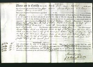 Deed by Married Women - Elizabeth Smith, Harriett Poole, Mary Ann Taylor, Martha Jaeger-Original Ancestry