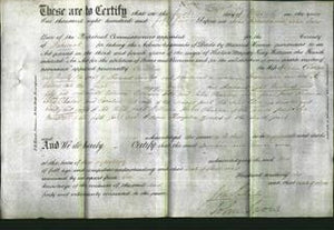 Deed by Married Women - Caroline Charlon and Emily Auster-Original Ancestry