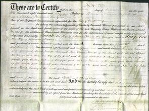 Deed by Married Women - Sarah Adams, Mary Ann Maxted-Original Ancestry