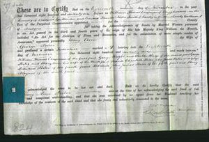 Deed by Married Women - Mary Ann Porter-Original Ancestry
