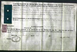 Appointment of Special Commisioners - Busick Edmonds Pemberton, Brodrick Shipley Warner, Louis Henry Cecil Jackson, and Henry Egerton Turner-Original Ancestry
