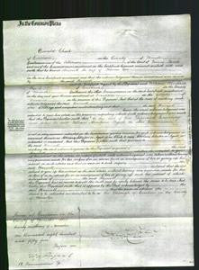 Court of Common Pleas - Harriott Cox-Original Ancestry