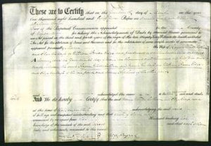 Deed by Married Women - Maria Winterbotham and Eliza Edge-Original Ancestry