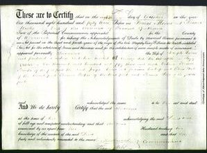Deed by Married Women - Susanna Harris-Original Ancestry