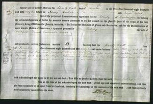 Deed by Married Women - Ann Suckling Eagles-Original Ancestry