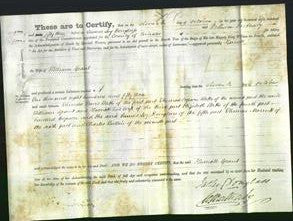 Deed by Married Women - Harriett Grant-Original Ancestry