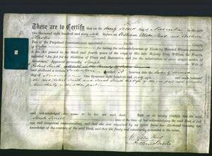 Deed by Married Women - Sarah Smith-Original Ancestry