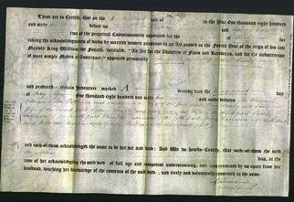 Deed by Married Women - Ann Givin Searby-Original Ancestry