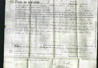 Deed by Married Women - Frances Harwood Smith-Original Ancestry