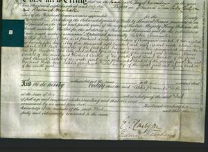 Deed by Married Women - Letita Parminter Doble-Original Ancestry